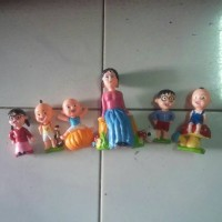 topper/figurine/dekor/kue/upin ipin/ulang tahun/birthday/patung/boneka