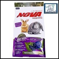 Pelet pakan makanan Nova kelinci Rabbit Food mixberry 1kg