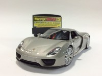 PORSCHE 918 SPYDER HARD TOP (ABU-ABU) - SKALA 1:24 - WELLY (DIECAST)