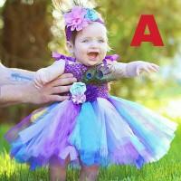 Dress Tutu baby / baju pesta tutu bayi / tutu pelangi / rainbow tutu