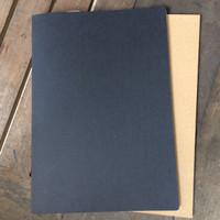 buku tulis | A4 | notebook blank | polos | sketsa | custom