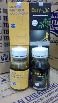 Paket Madu Penyubur Kandungan + Eury X - Madu Paket Penyubur Mabruroh