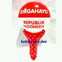 Balon Pentung HUT RI/Balon Merah Putih/Balon Dirgahayu/Balon AGUSTUSAN