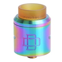 DRUGA 24 RDA Atomizer - RAINBOW [Authentic] [SKU02541]