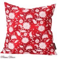 Prima Decor SARUNG BANTAL SOFA - RED FLOWER [40x40]