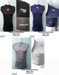 Baselayer/Manset Sleveless (Lekbong) Adidas - Baju Olahraga