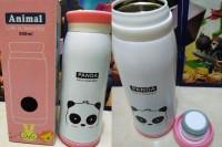 Termos Air ANIMAL Karakter Botol Minum Anak Tumbler Unik PANDA