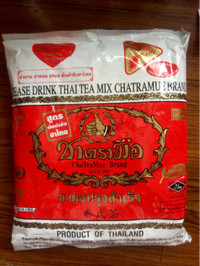 Thai tea / Bubuk Thai Tea (Dum Dum) Halal