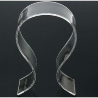 Stand Holder Display untuk Headphone Headset Acrylic tipe Universal