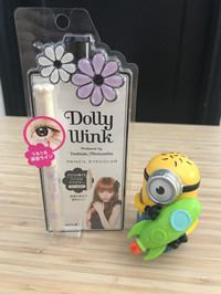Pencil Eye Color White Dolly Wink