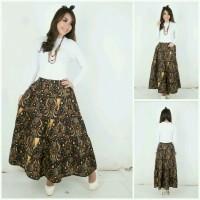 Rok panjang long skirt wulan batik