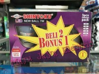 Paket Lampu LED Shinyoku 7 watt / 7 w beli 2 bonus 7watt