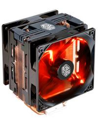 Cooler Master Hyper 212 LED TURBO - Black Cover DUAL FAN