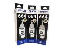 Tinta Epson Ori 664 T664 Hitam Black L100 L110 L120 L310