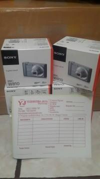 SONY Cyber Shot DSC-W810 garansi resmi SONY INDONESIA (SEGEL)