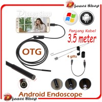 Android Camera Endoscope 3.5 Meter Otg Micro Usb  Waterproof Borescope