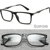 Kacamata Korea FF16 ORIGINAL Black Full Frame Kaca mata Minus Pria