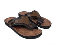 Sendal Casual Pria / Sandal New Era Rome Edition In Milo Brown