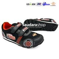 Sepatu Cars / Sepatu Sekolah Cars Hitam [26-35] Velcro / Sepatu Anak