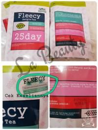 Fleecy Bangle Tea - Ada stiker anti fake