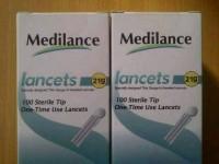 Jarum Bekam Medilance 21G isi 100 - Blood Lancet Medilance