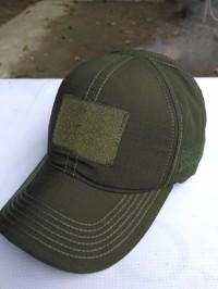 topi velcro polos hijau army / topi molay / topi bdu