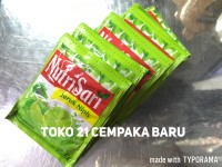 Nutrisari 1 Renceng   Minuman Rasa Jeruk Nipis 11gr @ 10 Sachet Murah