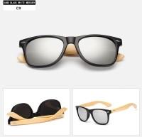 Sun Glasses Vintage Wooden Leg Eyeglasses