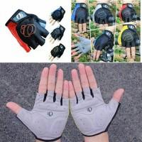 Half Finger Glove - Sarung Tangan Sepeda Gel Berkualitas