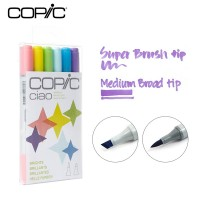 Copic Ciao Marker Set 6 - Bright