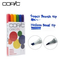 Copic Ciao Marker Set 6 - Primary