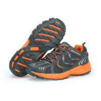 Sepatu Running KETA 193 Grey Orange /Jogging/Running/Outdoor