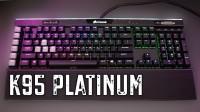 Corsair K95 RGB PLATINUM Mechanical Gaming Keyboard - Cherry MX Brown