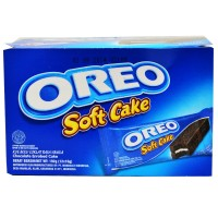 Oreo Soft Cake (Bolu Coklat) - 12 Pcs x 16 gram