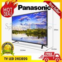 TV LED HD ready Panasonic 24 Inch Seri 24E302G Harga Pabrik