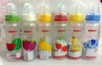 Botol Susu Pigeon 240ml Standard Peristaltic Nipple