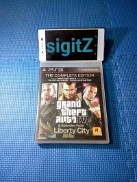bd ps3 kaset GTA 4 LIBERTY CITY COMPLETE EDITION