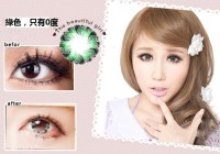 Softlens Eyemeny Pudding Green (Hijau) - Mini Effect