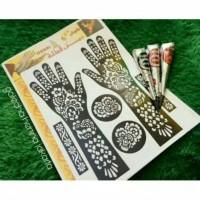 Paket hemat henna dan cetakan
