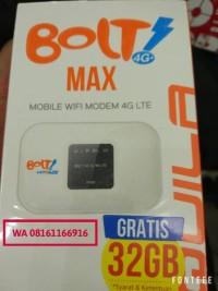 modem bolt aquila max free quota 32gb aktif