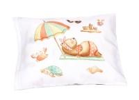 Mooi Sarung Bantal Anak Infant Summer Bear