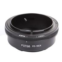 Adapter FOTGA Canon NFD FD FL To Sony Mirrorless E-mount Alpha a7 nex