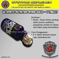UN Amino Gold PER TABLET /Ultimate Nutrition/BCAA/Suplemen/Ototpro/Fit