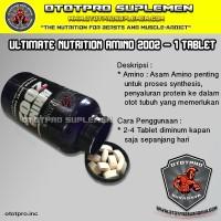 UN Amino 2002 PER TABLET /Ultimate Nutrition/BCAA/Suplemen/Otot/Whey