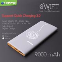 Hippo Power Bank Swift 9000 MAH Fast Quick Charging 3.0