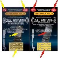 STIKER PENGUAT SINYAL GEN X PLUS/ ANTENA BOOSTER SIGNAL HP SMARTPHONE