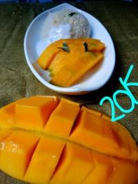 Mango Sticky Rice Extra Mango