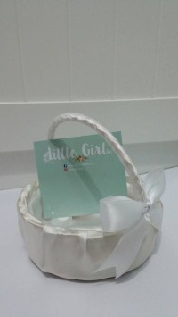 Keranjang Bunga/ Flower Girl Basket/ Wedding/ Keranjang Rotan/ Nikah