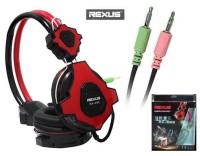 HEADSET GAMING REXUS RX-999 RED