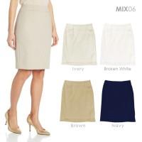 MIX06 -  Women Skirts - Rok Wanita - Rok Kerja - Rok Formal